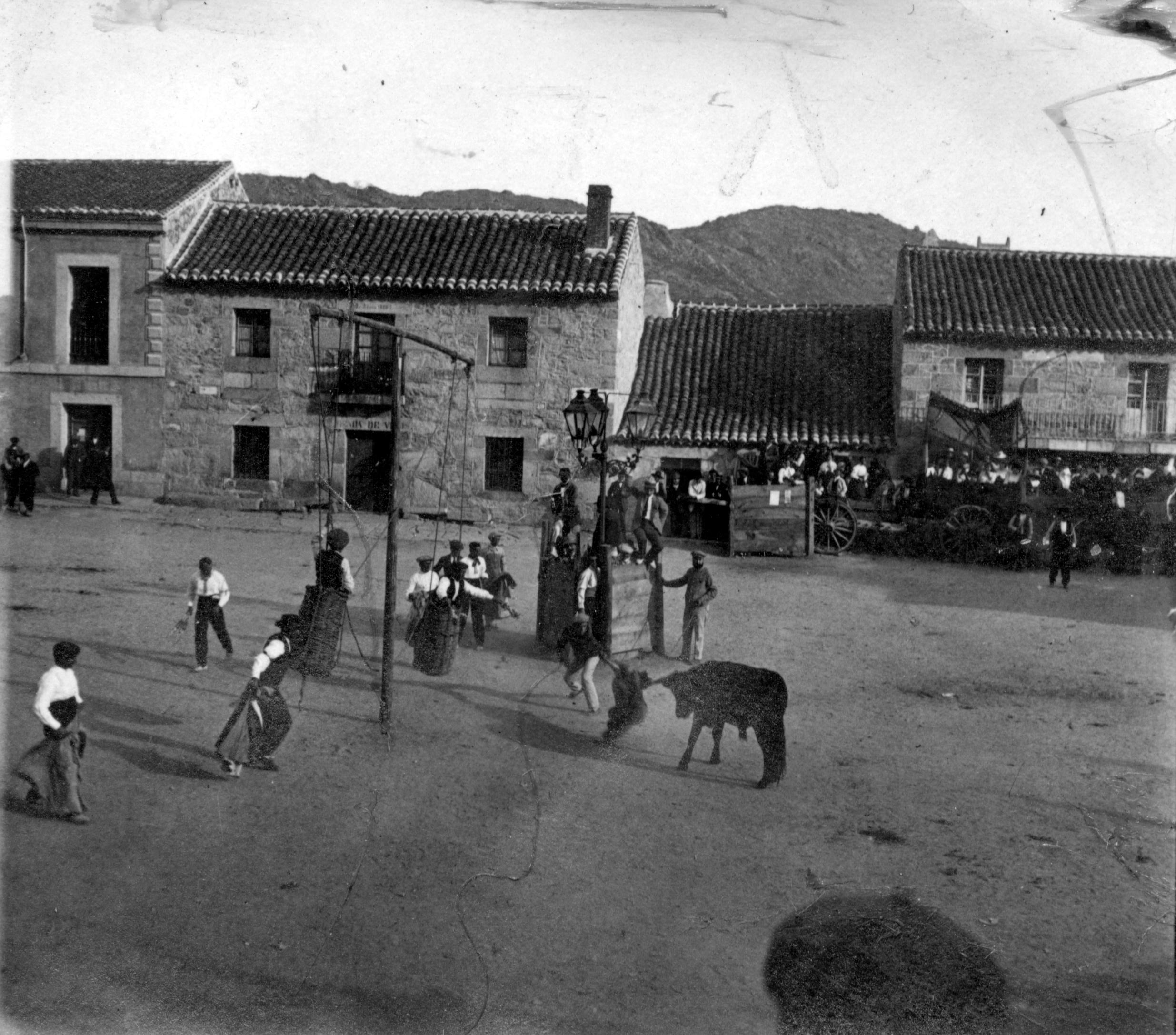 Becerrada plaza del pueblo
